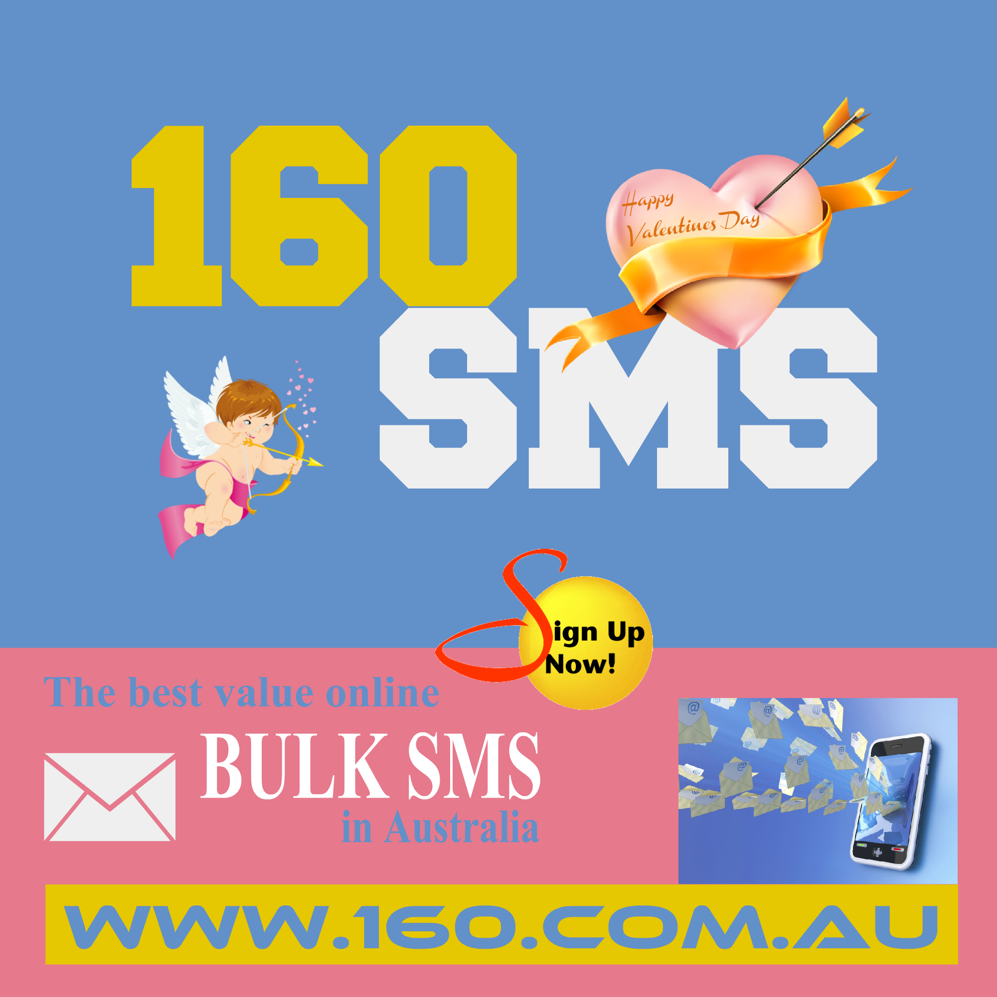 160sms Valentines Happy Valentines Day!